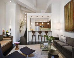 Дизайн однокомнатной квартиры глазами современных дизайнеров