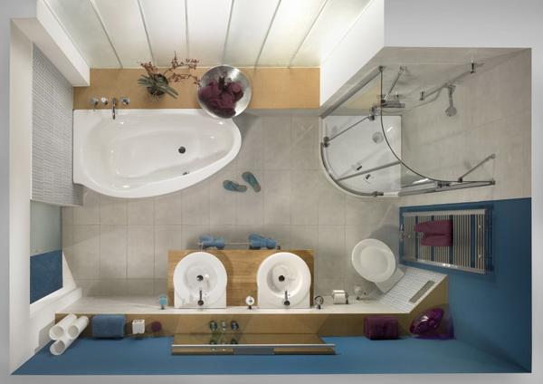 перепланировка ванной