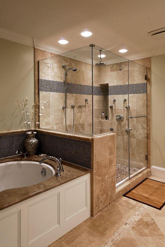 Ванная комната дизайн с душем