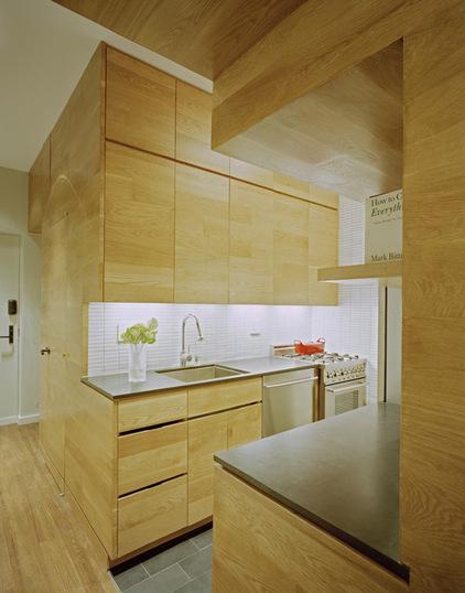 Малогабаритная кухня в стили Хай-тек
