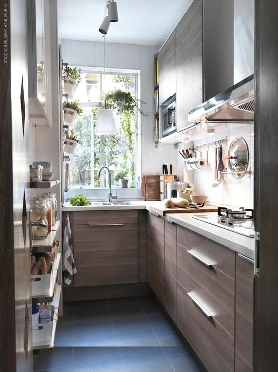 Использование всей высоты кухни