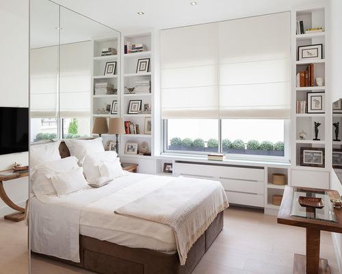 Маленькая спальня в скандинавском стиле
