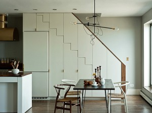 The-wishbone-chair-is-another-great-choice-for-the-dining-area