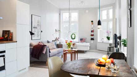 Новый стиль жизни в дизайне маленьких квартир