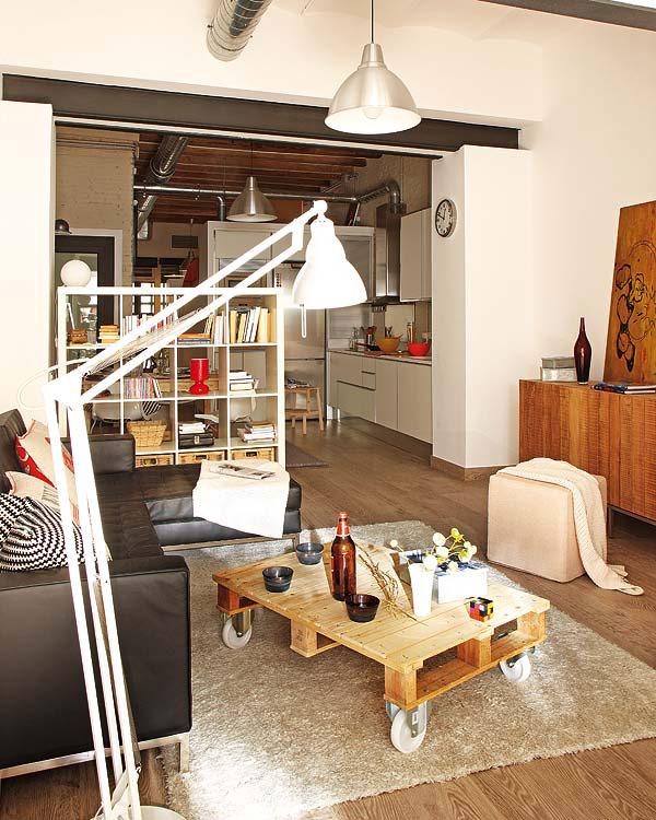 Современная мебель в оформление маленькой квартиры