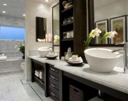 Системы хранения в ванной комнате