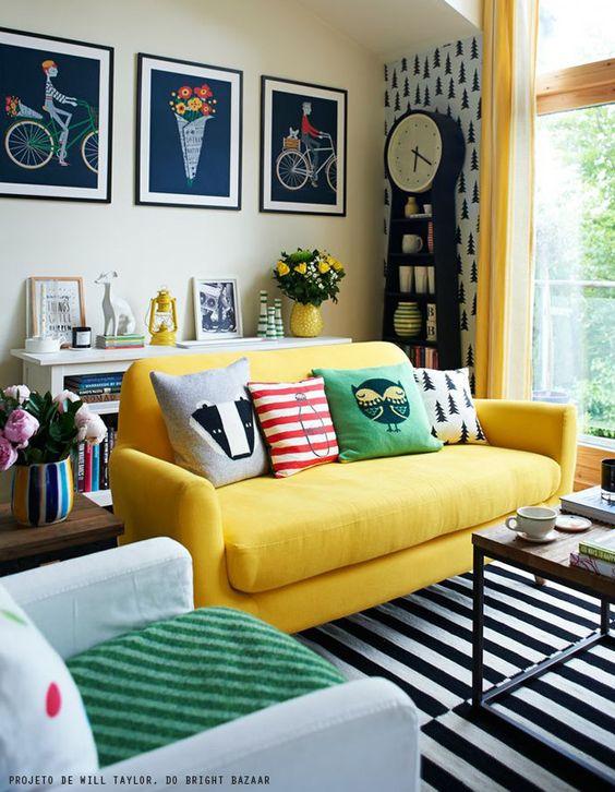 Современный вариант оформления маленькой комнаты