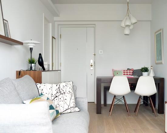 Планировка спальни гостиной