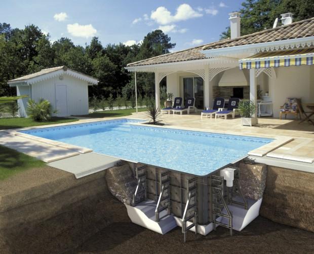 Глиняные почвы идеально подойдут для установки бассейна