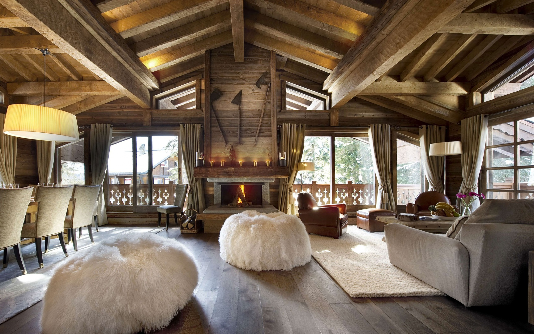 Дизайн немецкий дома шале