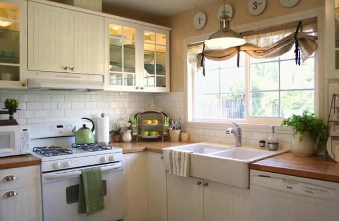 Кухни интерьер окна фото