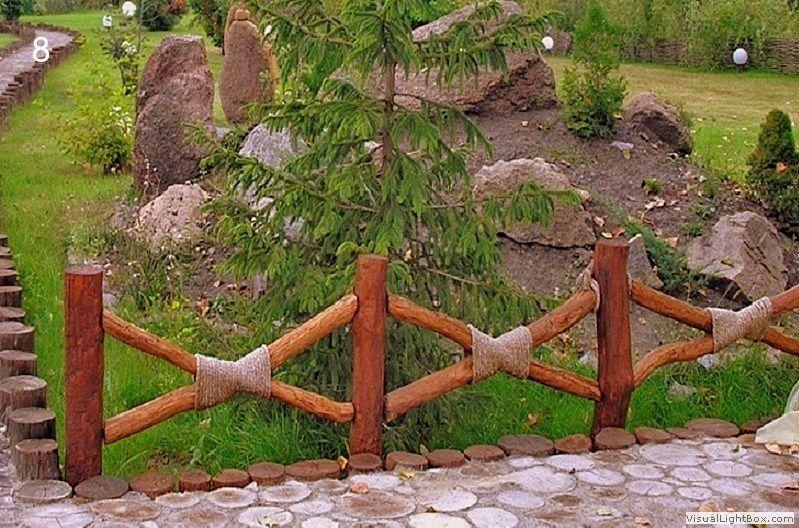 Ограды заборы своими руками