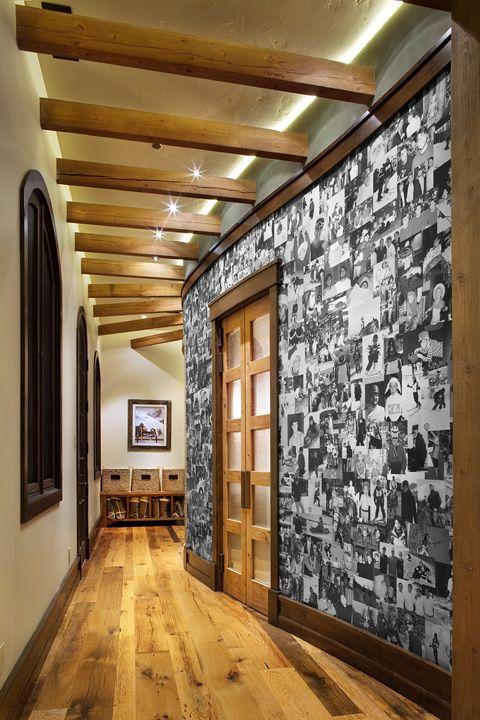 нам, украсить стены в коридоре своими руками фото постоянно дает высокий