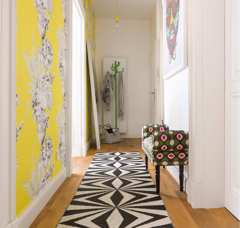 Дизайн узкой спальни - узкой длинной комнаты, в 9