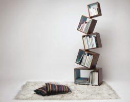 Книжные полки в современных интерьерах