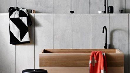 Пластиковые панели в декоре современной ванной