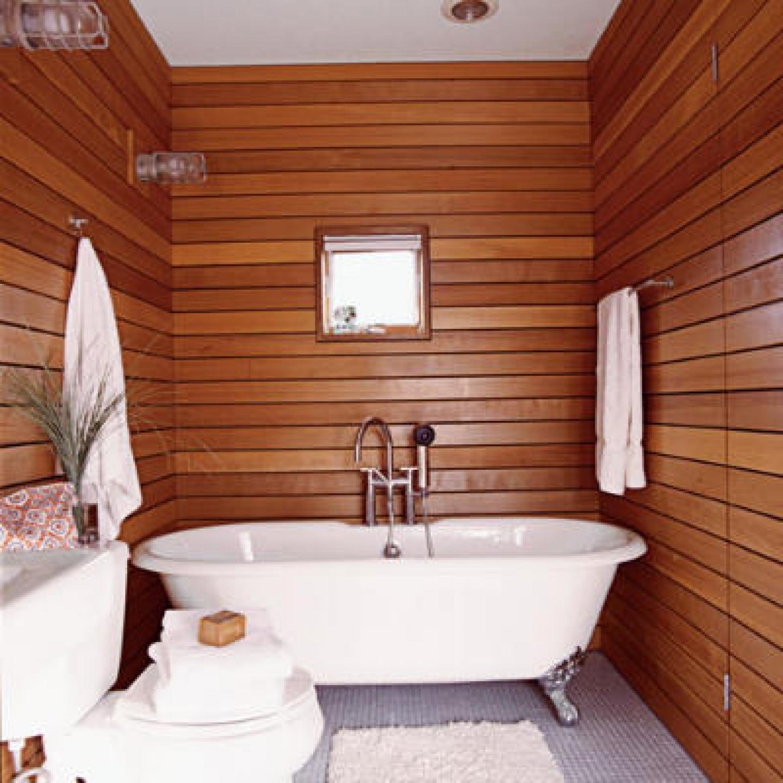 Отделка ванной вагонкой своими руками