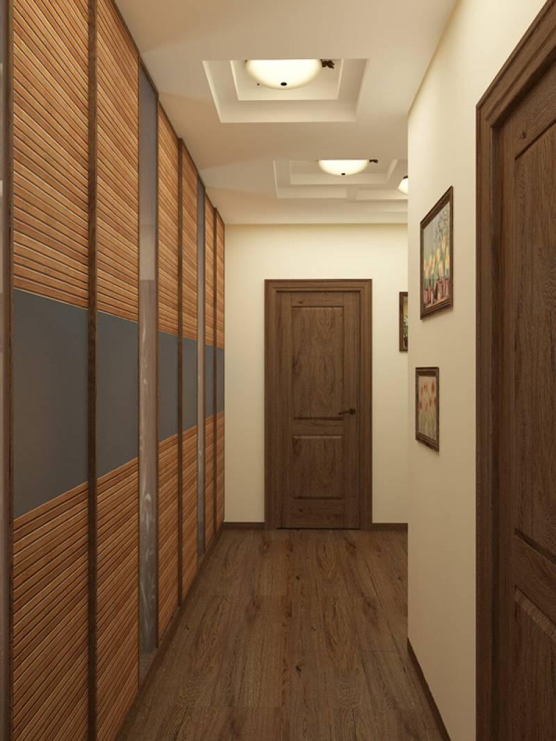 Ремонт длинного узкого коридора с