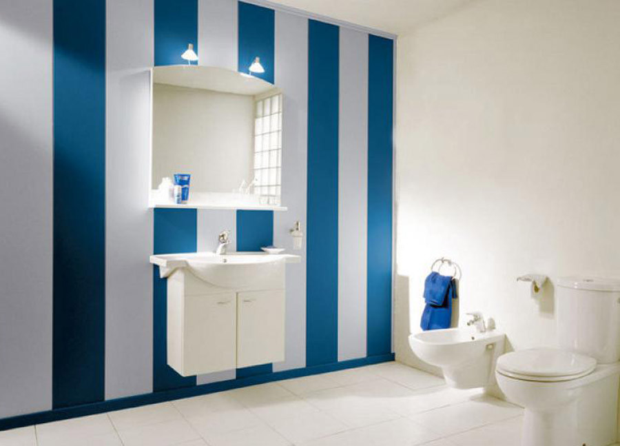 Обшивка пластиковыми панелями ванной дизайн