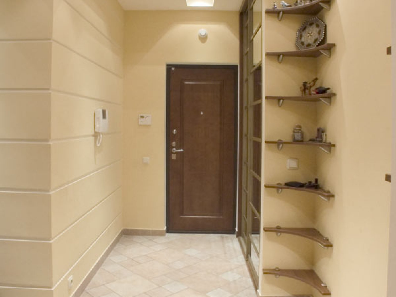 Ремонт коридора в квартире фото.