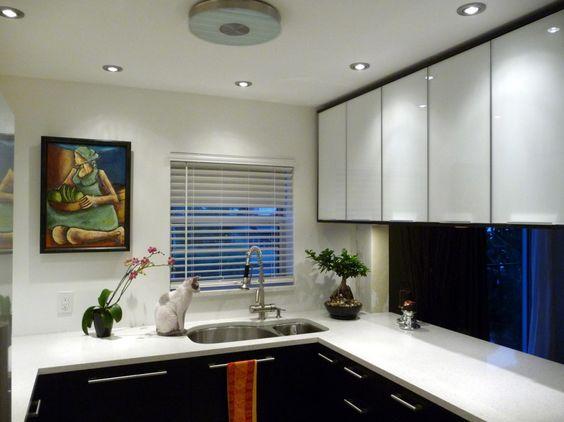 короткие шторы на кухню