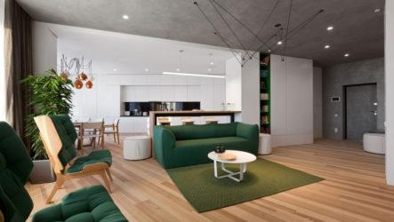Дизайн квартиры в стиле минимализма