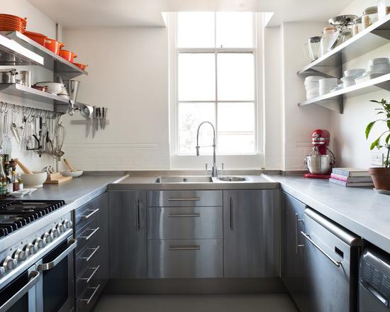 кухонный гарнитур в маленькой кухне