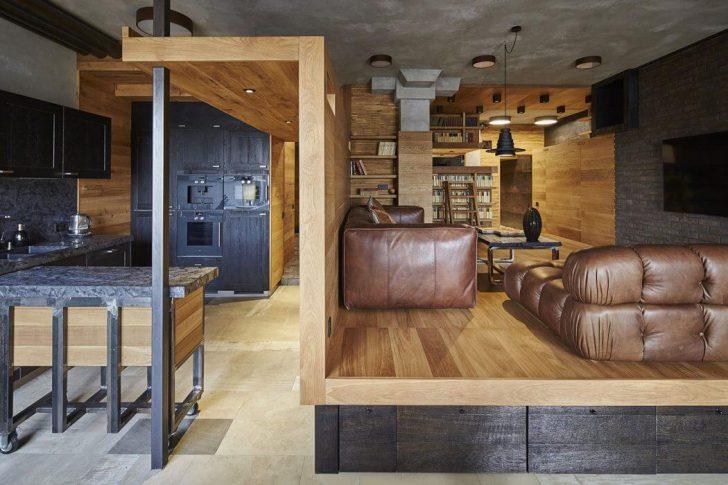 Подиумы в дизайне квартиры
