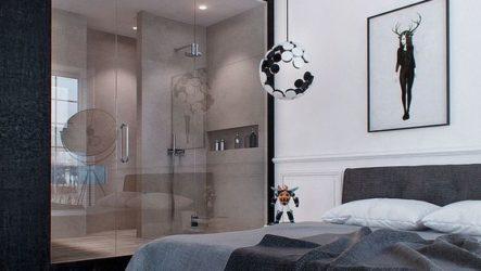 Ванная в спальне: креатив или эргономика?