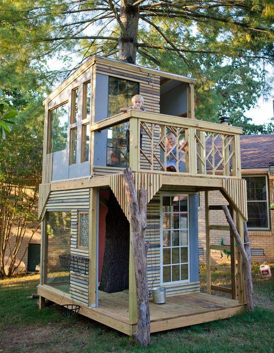 Своими руками построить дом из дерево