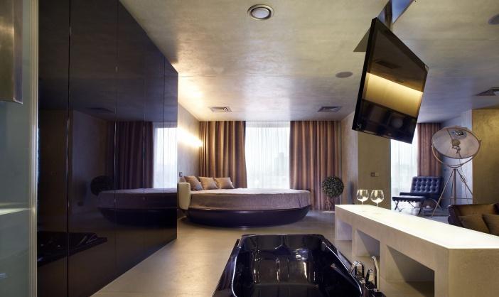 ванная комната в спальне