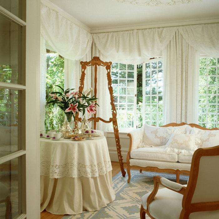 шторы для дачи и загородного дома