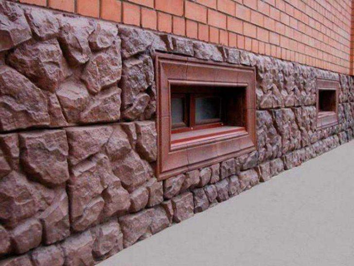 купить камни для отделки цоколя дома