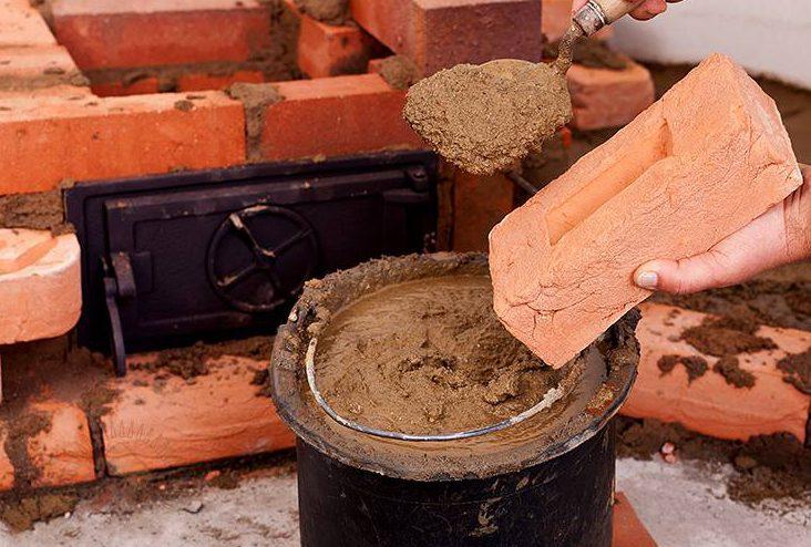 Глиняная смесь своими руками