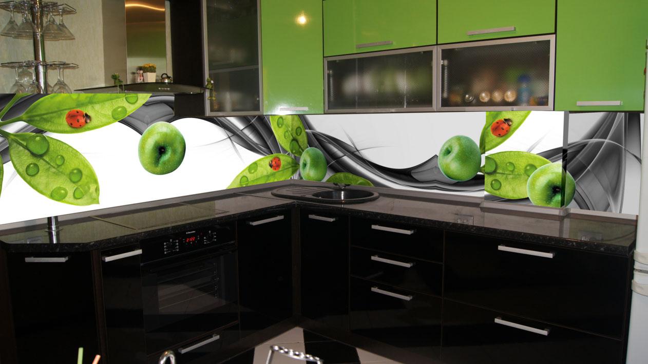 Рисунок на фартук для зеленой кухни