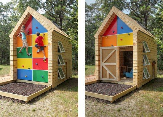 Как из чего сделать домик детский
