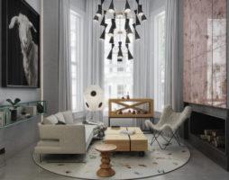 Дизайн интерьера лондонского мезонина