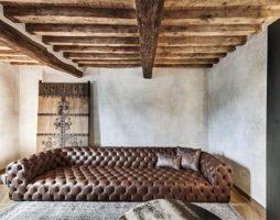 Дизайн квартиры в стиле рустик – просто и изысканно