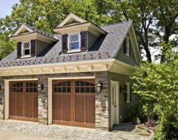 Современный гараж на 2 машины: особенности его проектирования и возведения