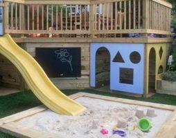 Как построить детский городок на даче. Практические советы и рекомендации