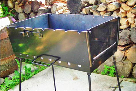 мангал из металла
