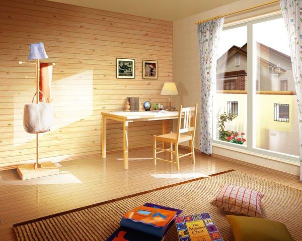 Дизайн комнаты из вагонки