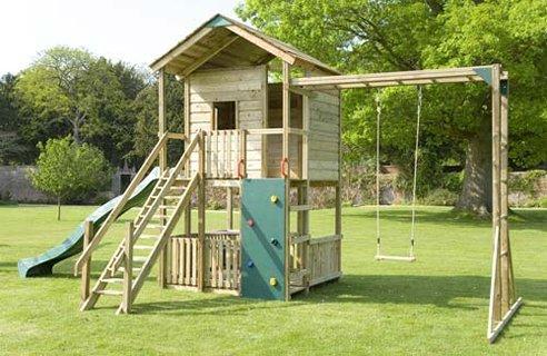 Сделать самому детский спортивный комплекс на даче