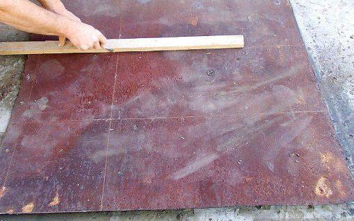 мангал из металла своими руками