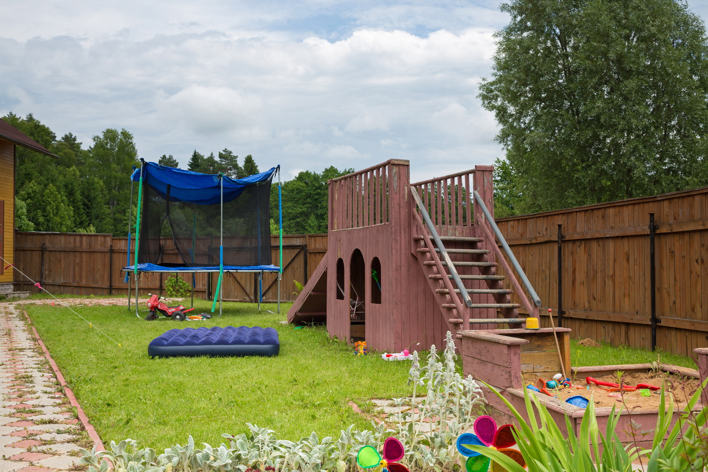 Как сделать игровую зону на даче
