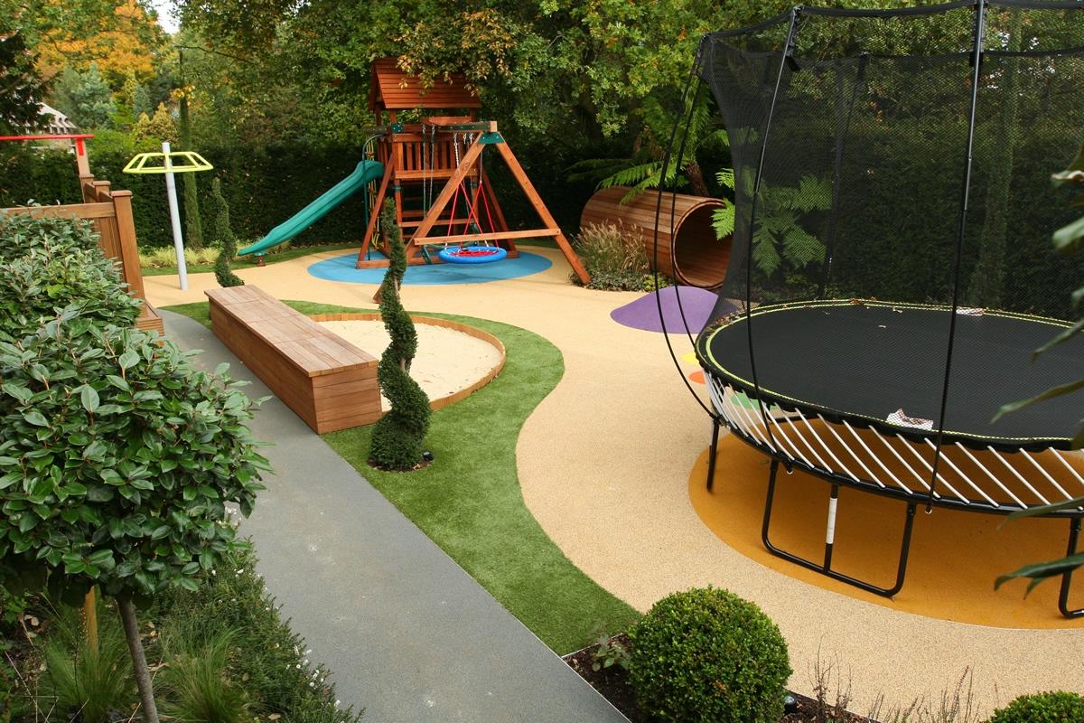 Фото дизайн детская площадка