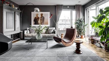 Скандинавский стиль в интерьере – дизайн уютной квартиры в Стокгольме