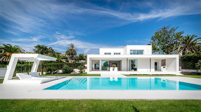 Реконструкция дома в средиземноморском стиле