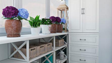 Шкаф на балкон: удачный выбор для практичности и комфорта