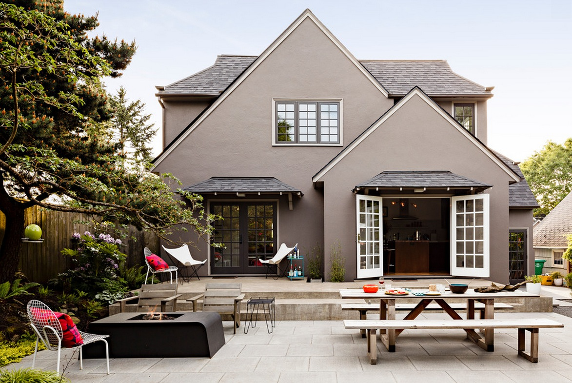 Идеи дизайна фасада дома